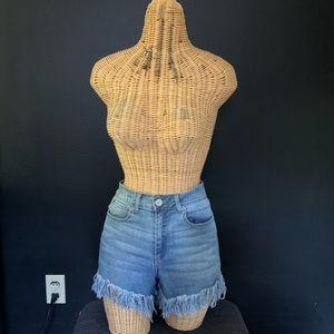 Gianni Bini cut of demon shorts